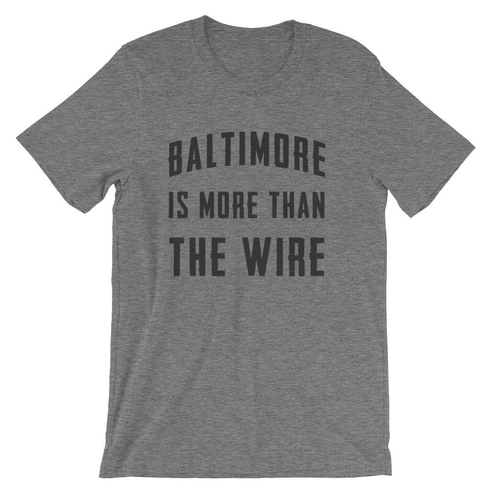 Not just the Wire T-Shirt deep heather