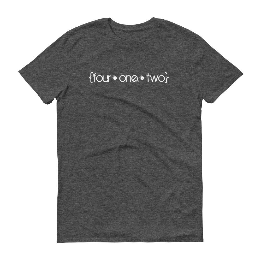 Four One Two t-shirt heather dark grey