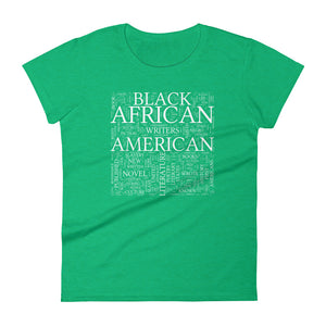 Black Lit Women's short sleeve t-shirt heather green