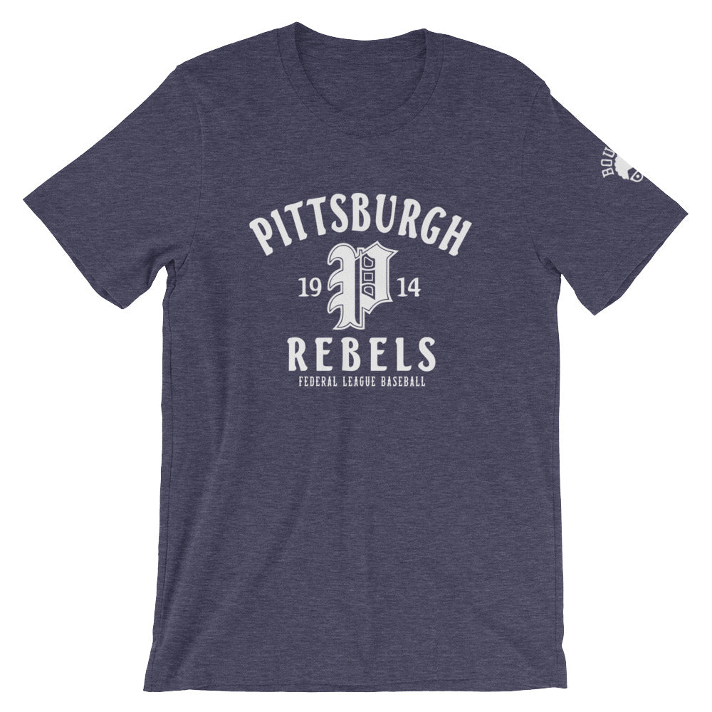 Pittsburgh Rebels T-Shirt heather midnight navy