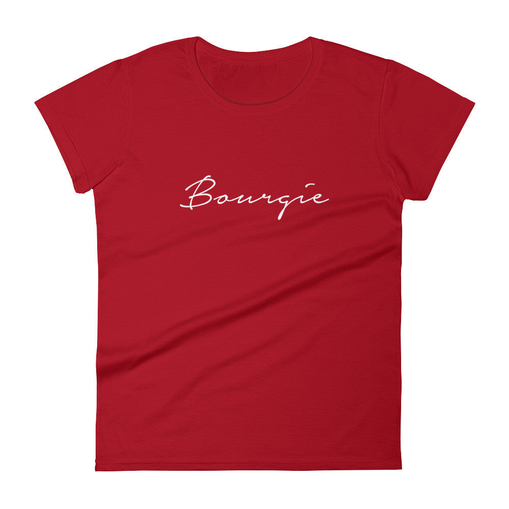 Women's Bourgie t-shirt red