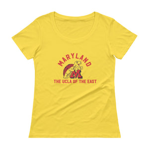 Ladies' Ladies Terps UCLA Scoopneck T-Shirt