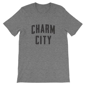 Charm City t-shirt deep heather