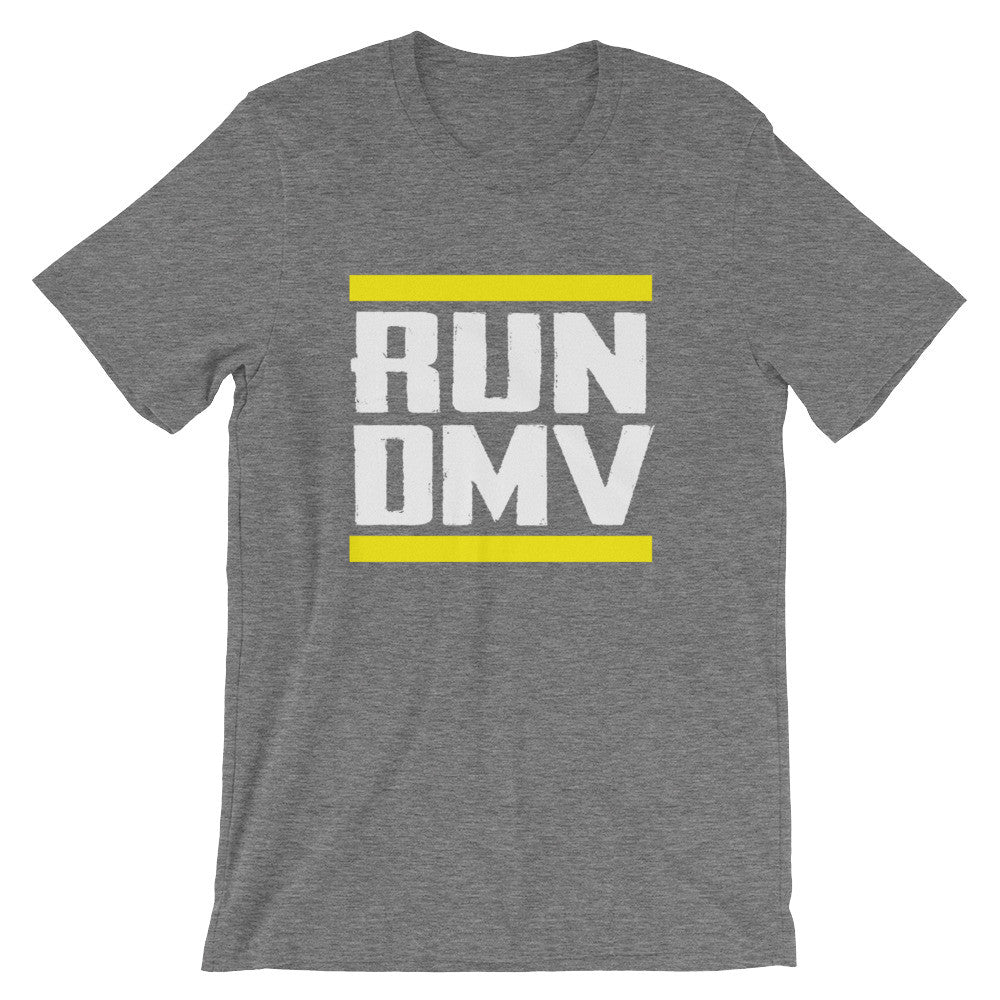 Run DMV t-shirt deep heather