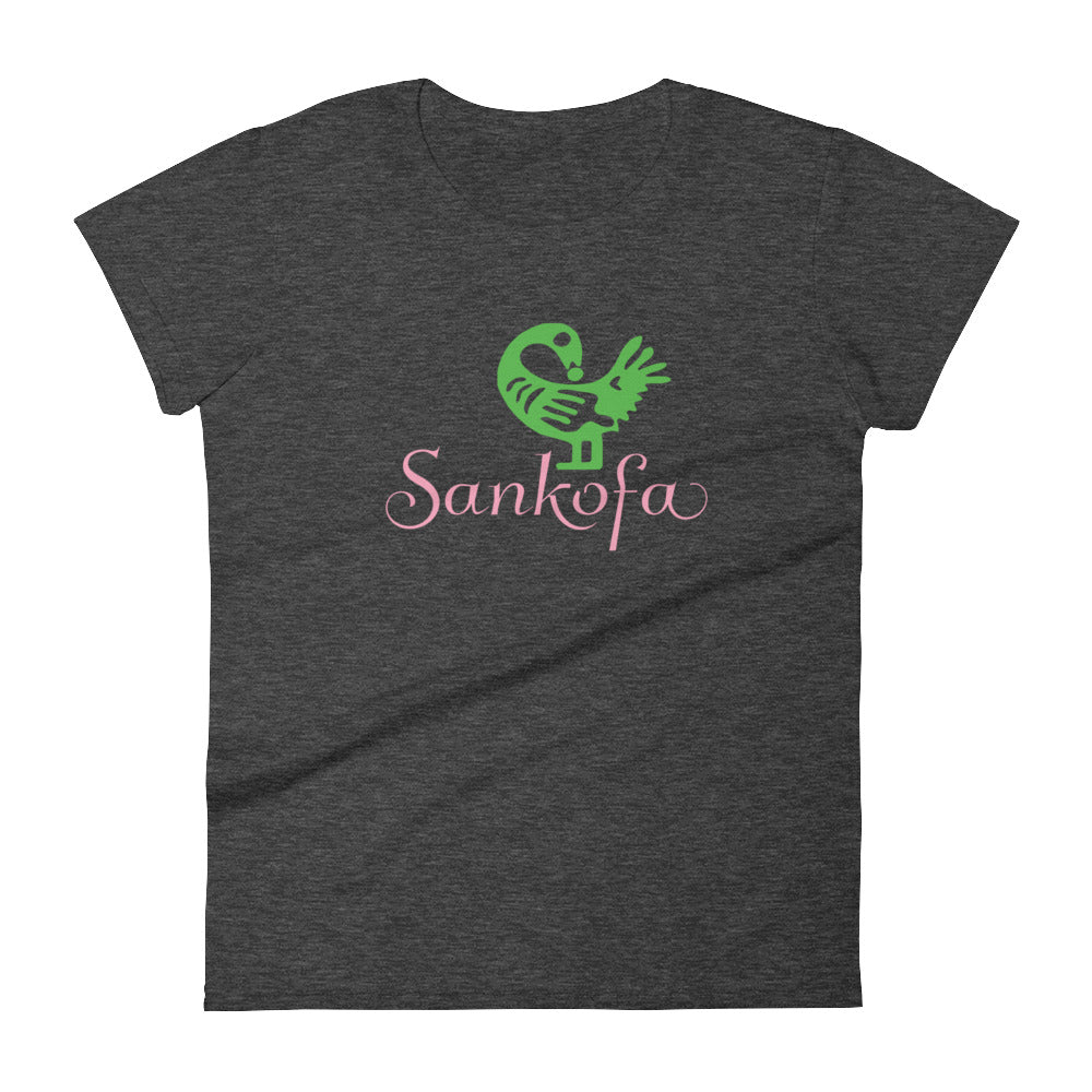 Limited Edition AKA Sankofa t-shirt heather dark grey
