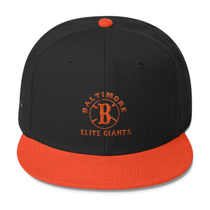 Baltimore Elite Giants Wool Blend Snapback