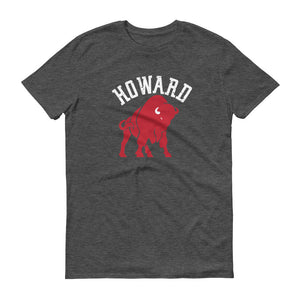 Howard t-shirt heather dark grey