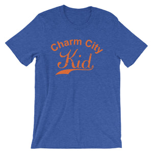 Charm City t-shirt heather true royal