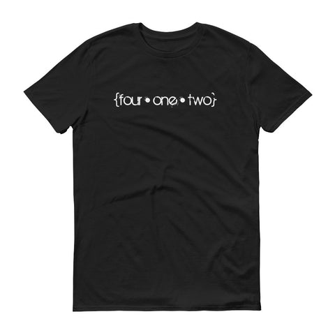 Four One Two t-shirt black