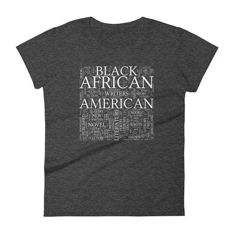 Black Lit Women's short sleeve t-shirt heather dark grey