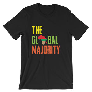 The Global Majority Unisex T-Shirt black