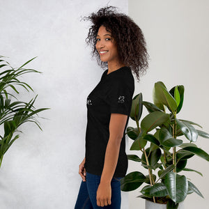 She Bourgie Short-Sleeve Unisex T-Shirt side black heather