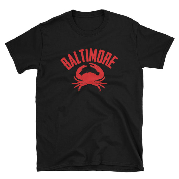 Baltimore t-shirt black