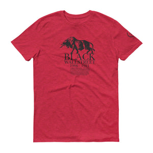 Signature Heritage Black Wall Street Short-Sleeve T-Shirt