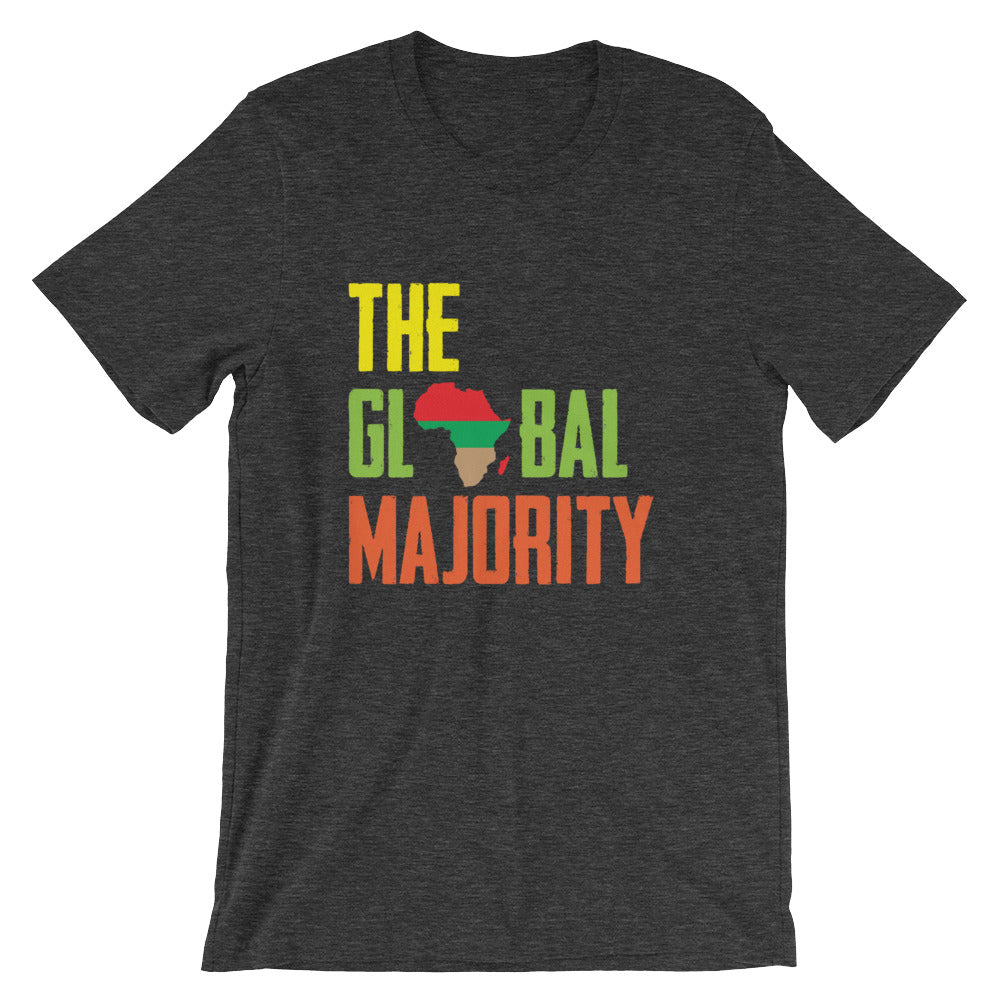 The Global Majority Unisex T-Shirt dark heather grey