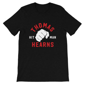 Limited Edition Tommy Hearns Short-Sleeve Unisex T-Shirt heather black