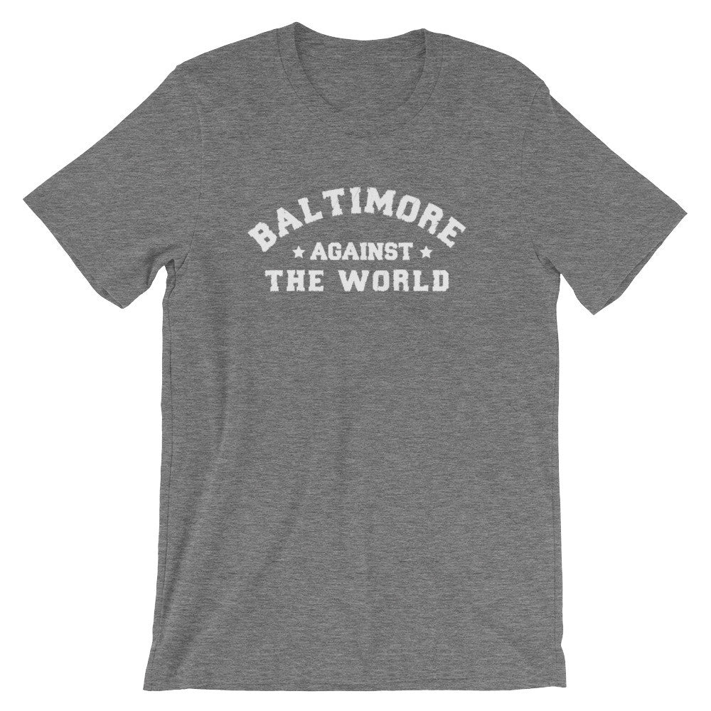 Baltimore Against The World t-shirt deep heather