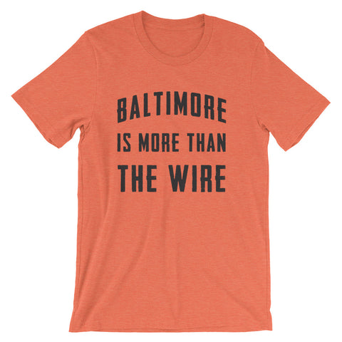 Not just the Wire T-Shirt heather orange