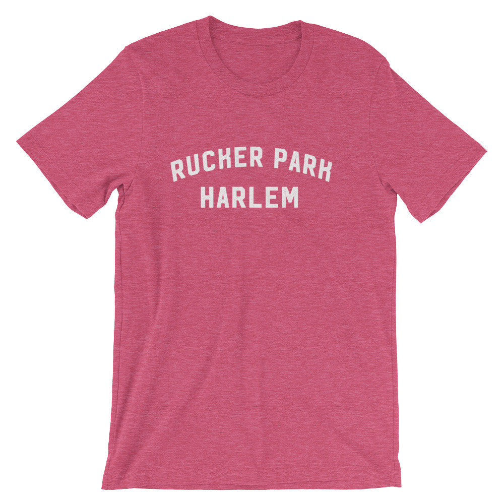 Rucker park t-shirt heather raspberry