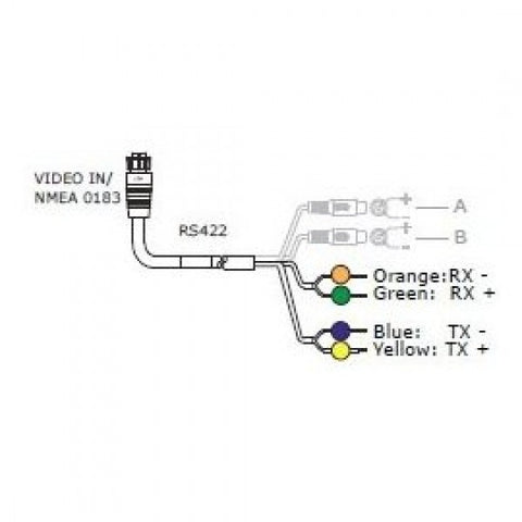 simrad 032-0056-08 combination nmea0183 and video-in cable ... tft mirror backup camera wiring diagram