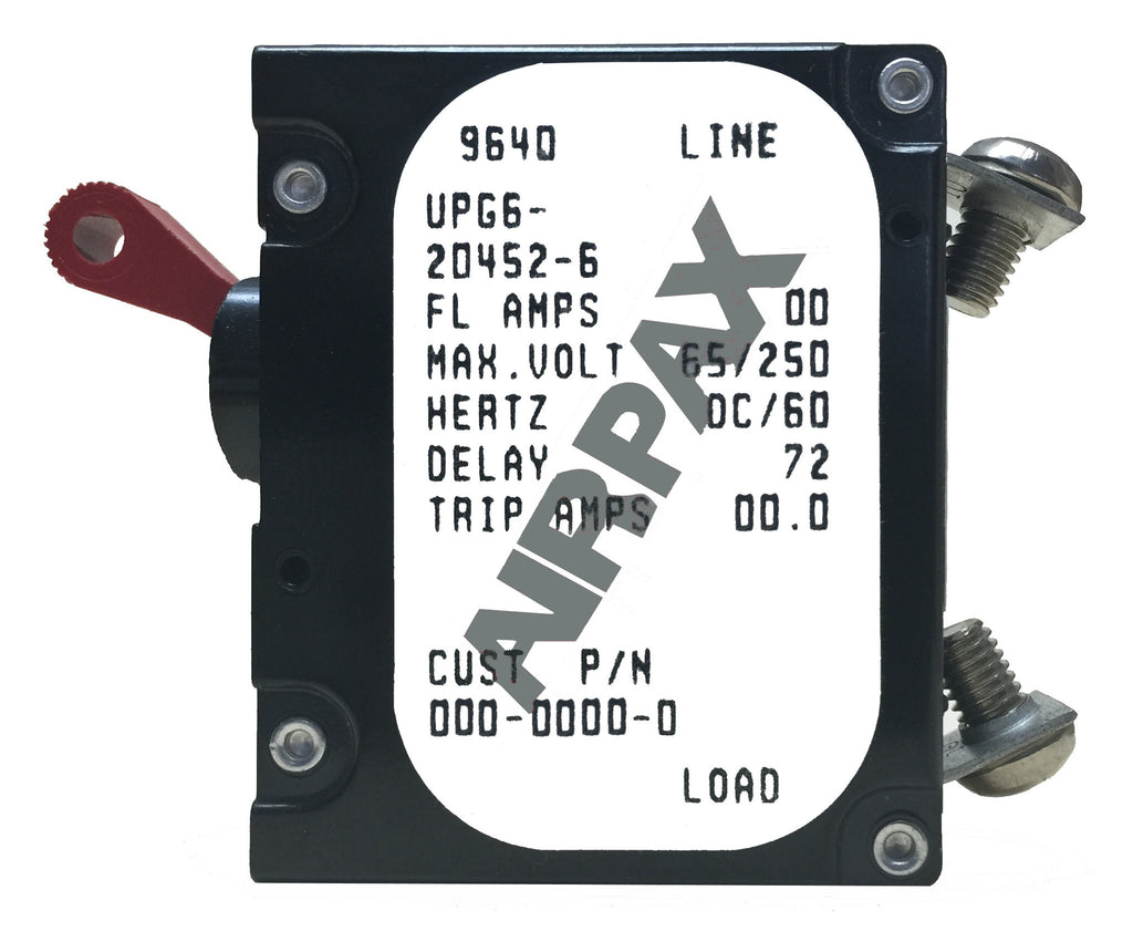 Airpax Circuit Breaker - Single Pole