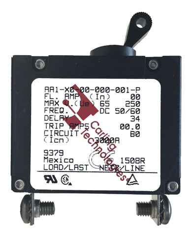 Blue Sea Systems Circuit Breaker - Single Pole