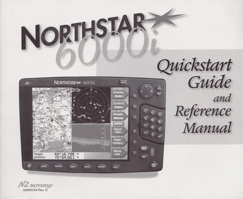 Northstar 6000i Quickstart Guide and Reference Manual [Used, Very Good]