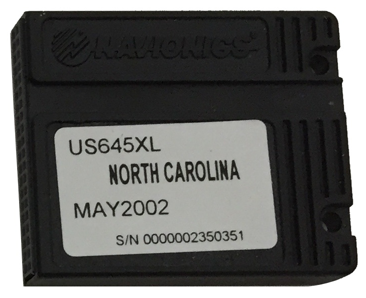 [USED] Navionics NAVchart Classic US645XL North Carolina May 2002 sn 0000002350351
