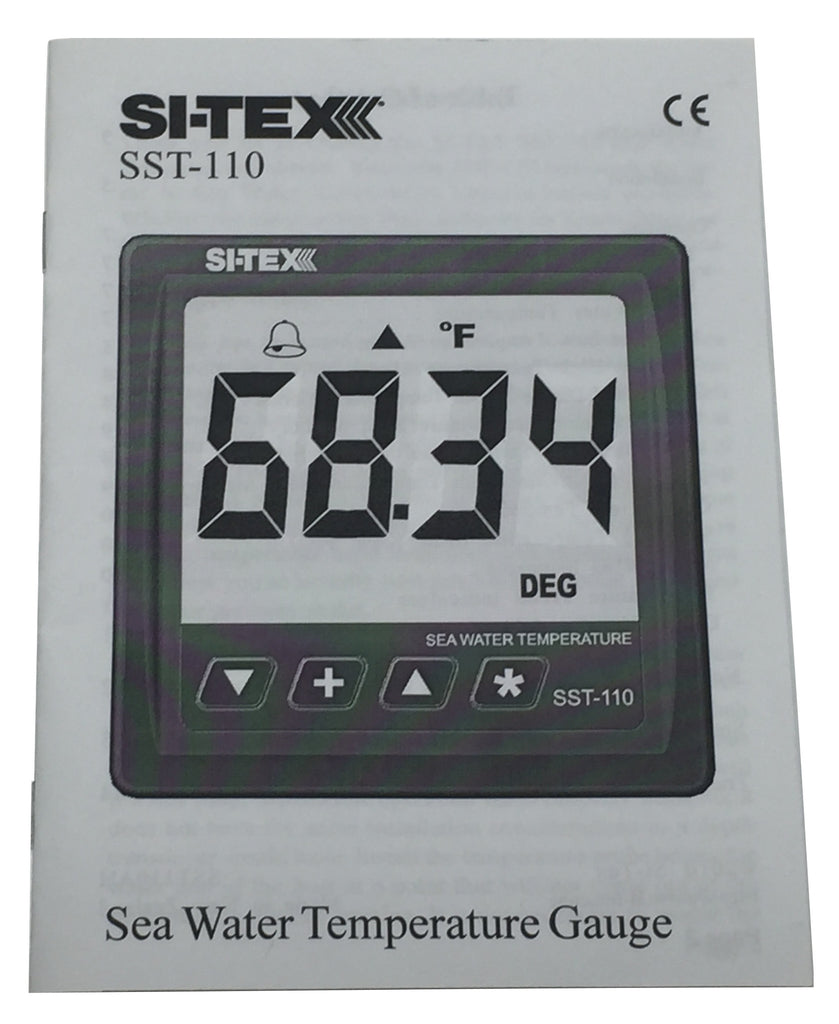 si tex sst110 owner s manual marine electronics of the outerbanks llc rh shop meob com Manuals in PDF Owner's Manual
