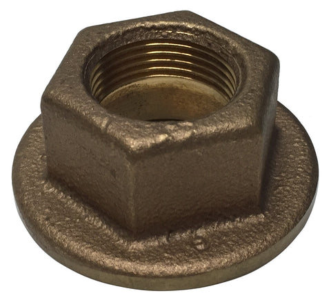 "Airmar 02-036-2 33mm ID Hull Nut (1""-11 1/2 NPS)"