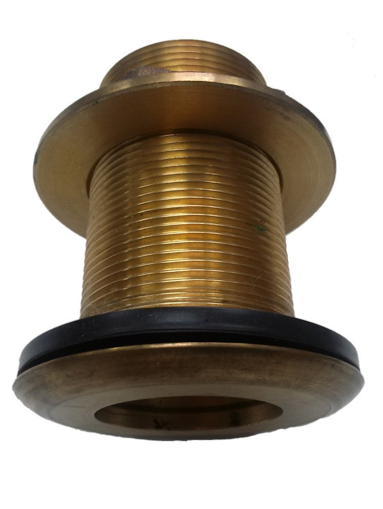 Airmar 33-588-01 B617V 2inch - 51mm OD Integrated Valve Bronze Thru-Hull Tube Assembly