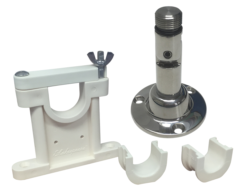 mount, upper support and adapters