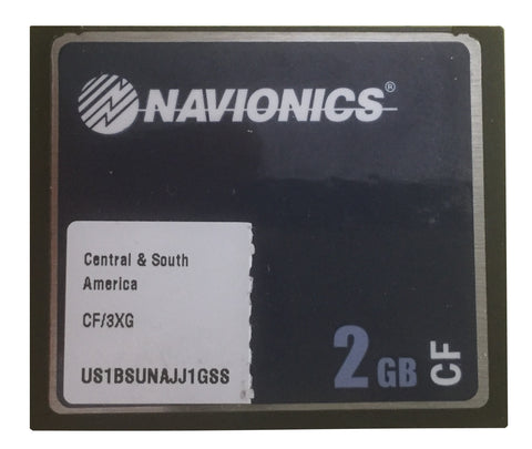 [USED] Navionics Gold CF/3XG Central and South America sn US1BSUNAJJ1GSS