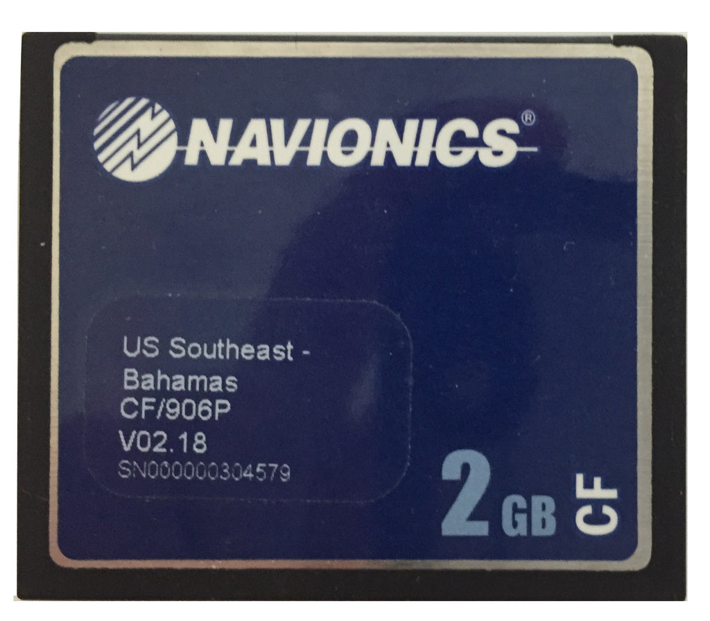 [USED] Navionics Platinum CF/906P USA Southeast and Bahamas v02.18 2006 sn 000000304579