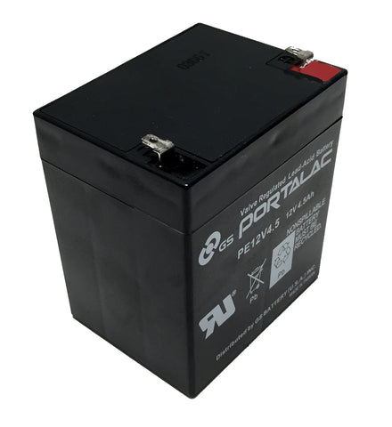 GS Battery Portalac PE12V4.5 12V 4.5Ah Sealed Lead-Acid Battery