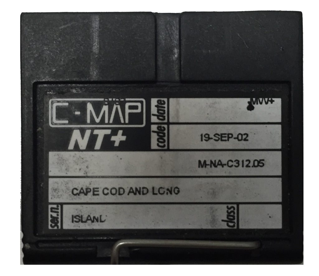 [USED] C-Map NT+ FP-Card M-NA-C312.05 Cape Cod and Long Island 19-Sep-2002 sn REF0001
