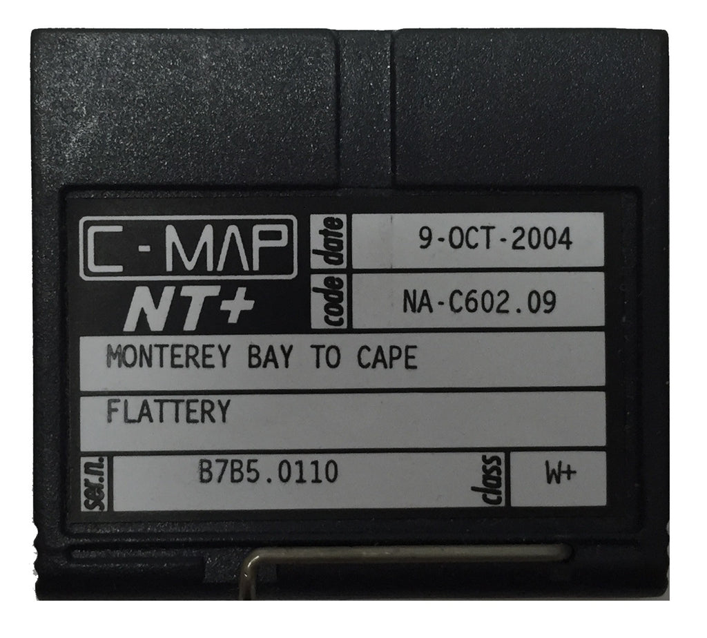 [USED] C-Map NT+ FP-Card NA-C602.09 Monteray Bay to Cape Flattery 9-Oct-2004 sn B7B5.0110