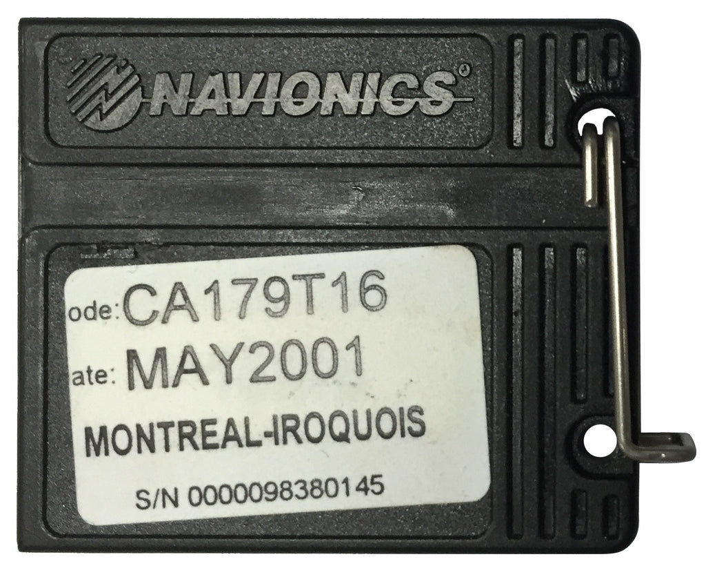 [USED] Navionics NAVchart CA179T16 Montreal to Iroquois May 2001 sn 0000098380145