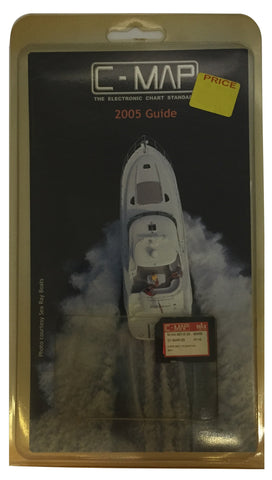 [USED] C-Map NT mAx SD-Card M-NA-M310.00 Cape May to Winyah Bay 01-Mar-2005 sn REF0116