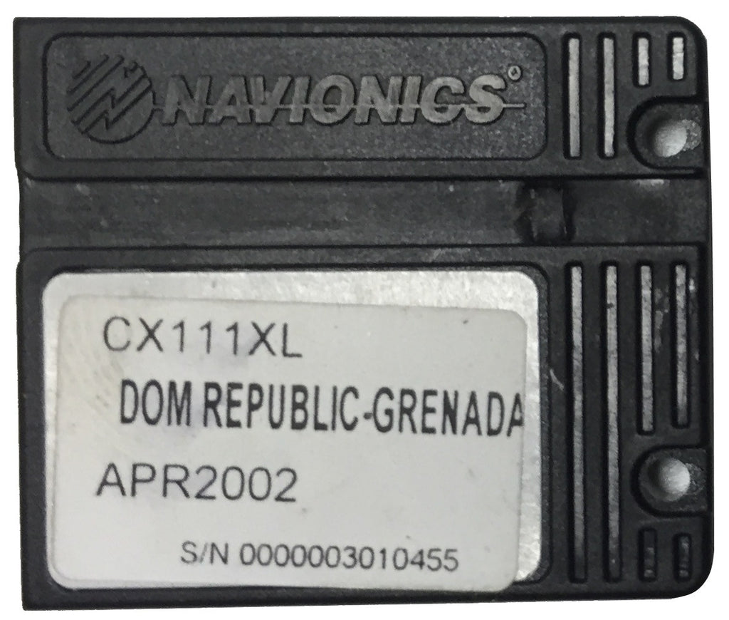 [USED] Navionics NAVchart Classic CX111XL Dominican Republic to Grenada April 2002 sn 0000003010455