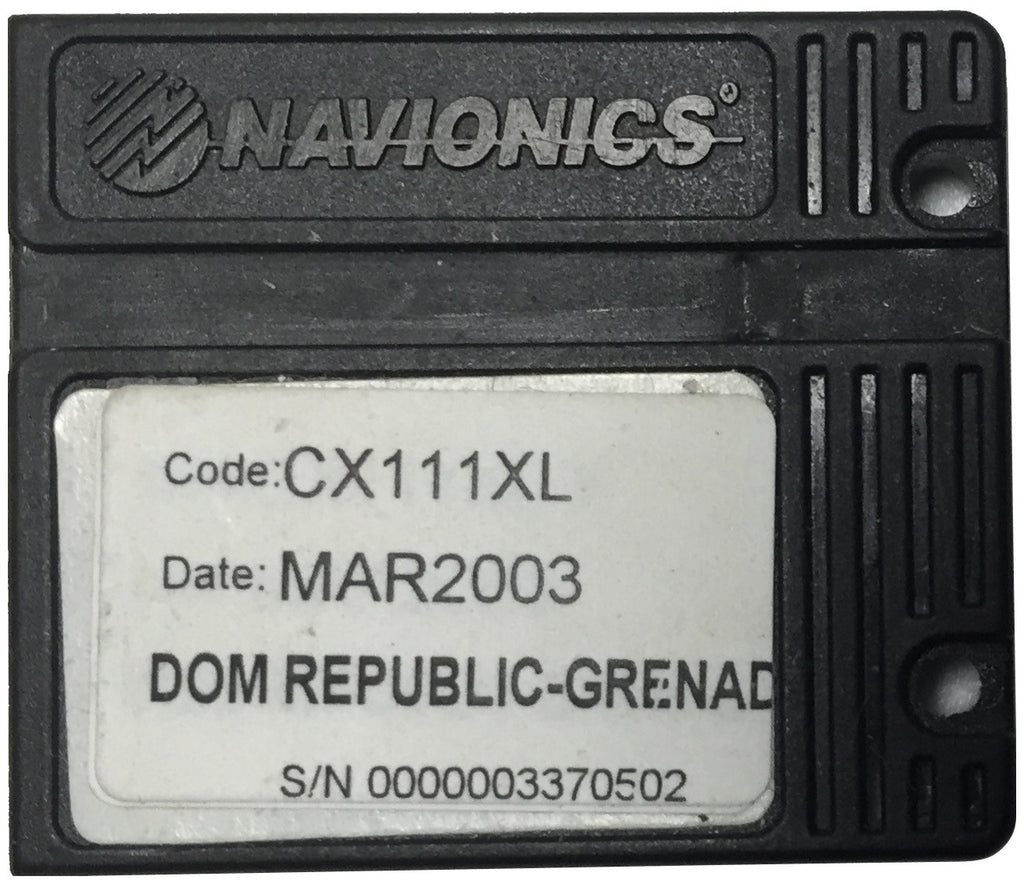 [USED] Navionics NAVchart Classic CX111XL Dominican Republic to Grenada March 2003 sn 0000003370502
