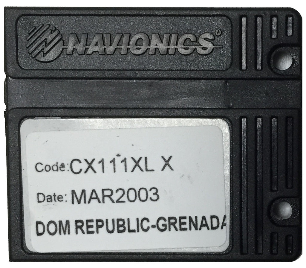 [USED] Navionics NAVchart Classic CX111XL Dominican Republic to Grenada March 2003 sn REF-0001
