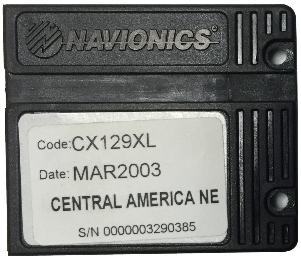 [USED] Navionics NAVchart Classic CX129XL Central America North East Mar 2003 sn 0000003290385