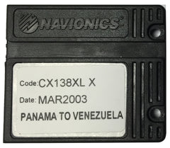 [USED] Navionics NAVchart Classic CX138XL Panama to Venezuela March 2003 sn REF-0001