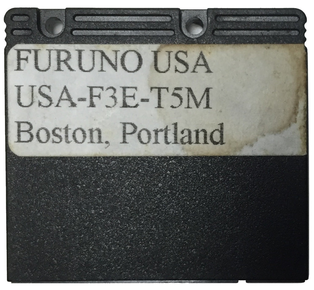 [USED] Furuno Coastline Data Card USA-F3E-T5M Boston, Portland sn REF0001