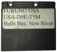[USED] Furuno Coastline Data Card USA-D9E-T5M Bulls Bay, New River sn REF0001