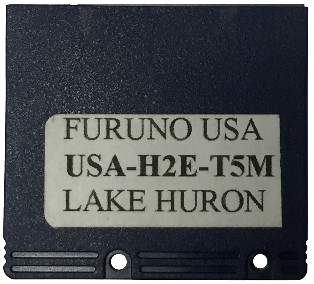 [USED] Furuno Coastline Data Card USA-H2E-T5M Lake Huron sn REF0001