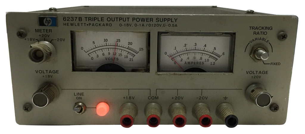 [USED] Hewlett Packard 6237B Triple Output Power Supply (ref-001)