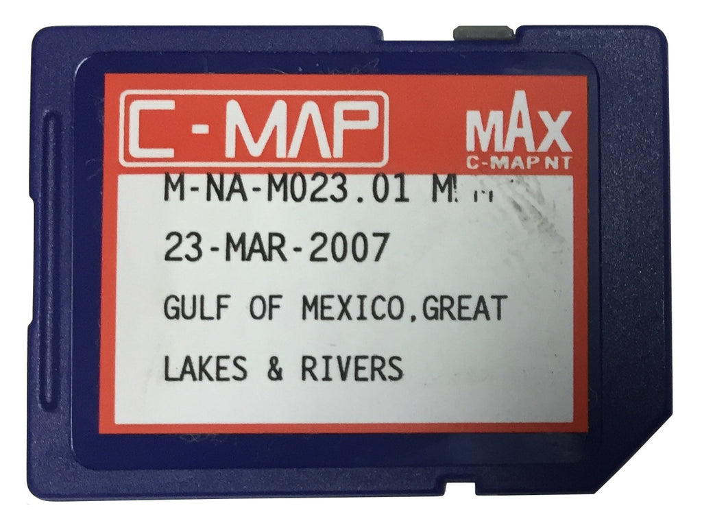 [USED] C-Map NT mAx SD-Card M-NA-M023.01 Gulf of Mexico, Great Lakes and Rivers 23-Mar-2007 (ref 001)