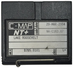 [USED] C-Map NT+ FP-Card NA-C163.07 Lake Roosevelt 29-Mar-2004 sn B7B5.0101